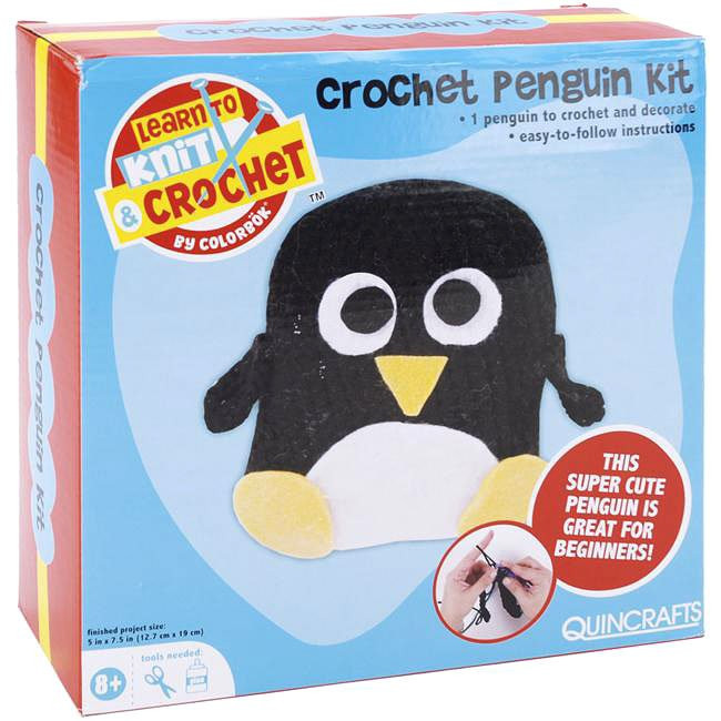 Beautiful Learn to Crochet 5×7 5 Inch Penguin Kit Learn to Crochet Kit Of Top 39 Pictures Learn to Crochet Kit