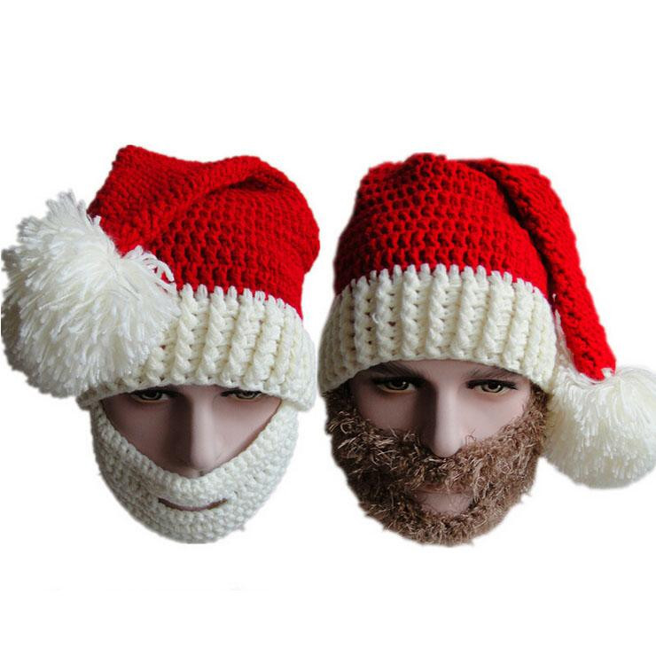 Beautiful Line Cheap Fashion Christmas Hats Handmade Knitted Beard Knitted Christmas Hats Of Adorable 50 Models Knitted Christmas Hats