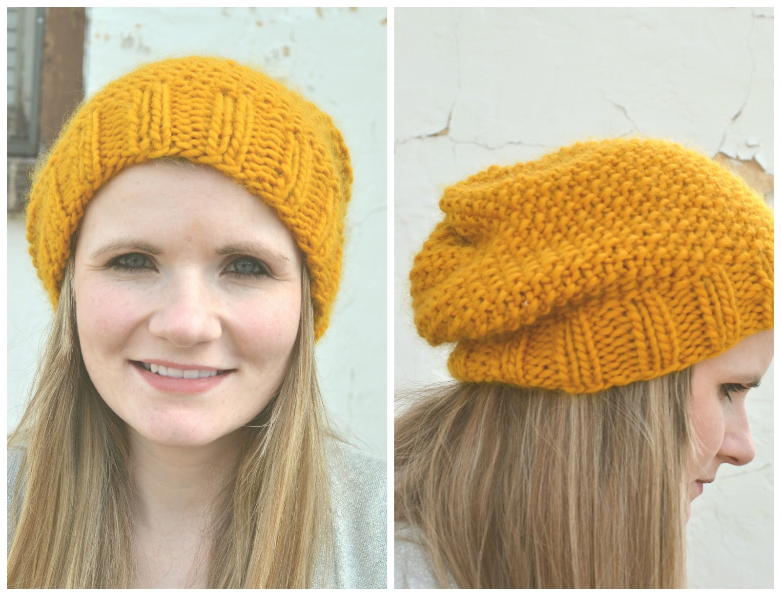 Little Bird With a French Fry Knitted Slouchy Beanie Free