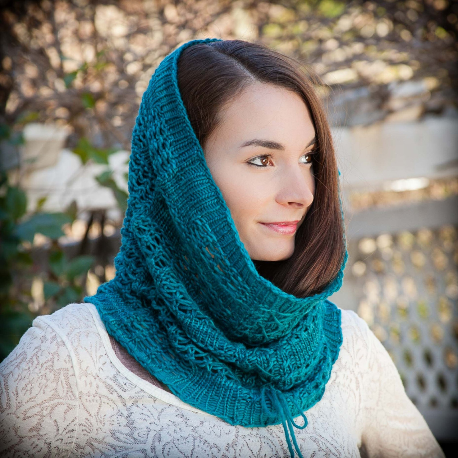 Beautiful Loom Knit Lace Snood Cowl Pattern Cowl Scarf Of Innovative 48 Photos Cowl Scarf