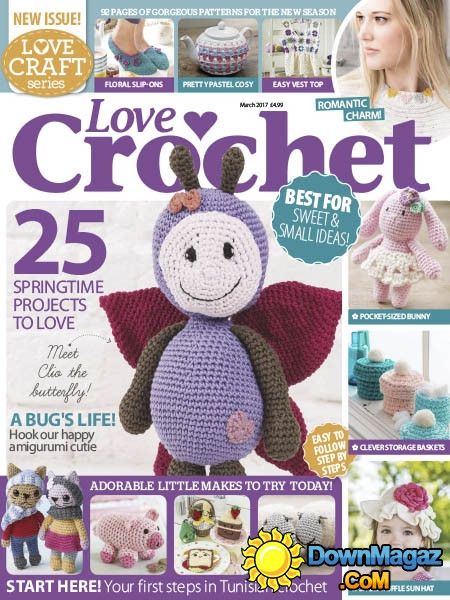 Beautiful Love Crochet Spring 2017 Download Pdf Magazines Love Crochet Magazine Of Wonderful 48 Pictures Love Crochet Magazine