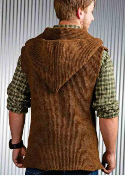 Beautiful Men S Sleeveless Jacket Crochet Pattern Free Crochet Mens Sweater Of Attractive 49 Pictures Crochet Mens Sweater