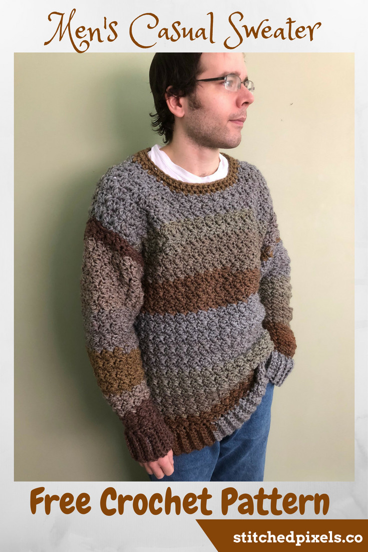 Men's Casual Sweater – Stitched