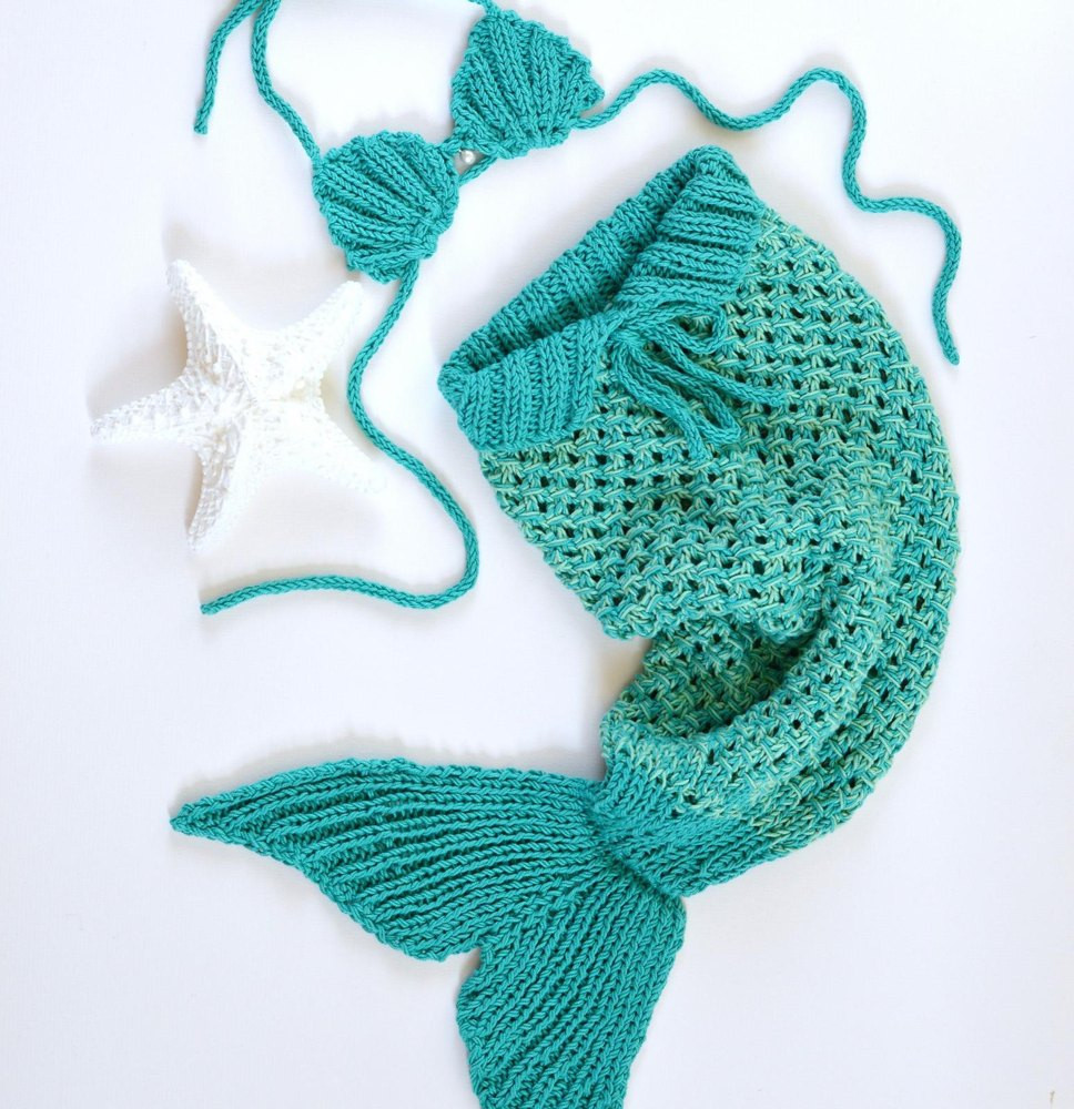 Beautiful Mermaid Tail Baby Blanket Knitting Pattern by Caroline Brooke Knitted Mermaid Tail Of Perfect 38 Ideas Knitted Mermaid Tail
