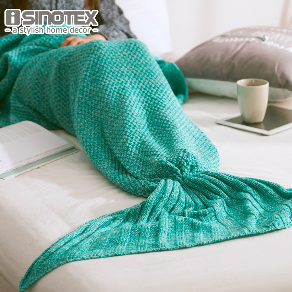 Beautiful Mermaid Tail Blanket Yarn Knitted Handmade Crochet Mermaid Knitted Mermaid Blanket Of Great 41 Images Knitted Mermaid Blanket