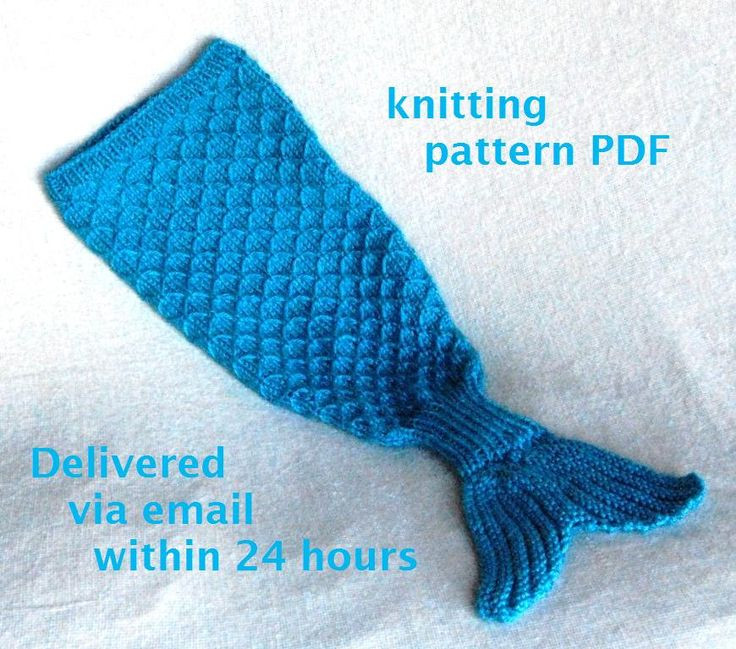 Beautiful Mermaid Tail Cocoon Knitting Pattern Charming Newborn Mermaid Blanket Knitting Pattern Of Unique 42 Models Mermaid Blanket Knitting Pattern