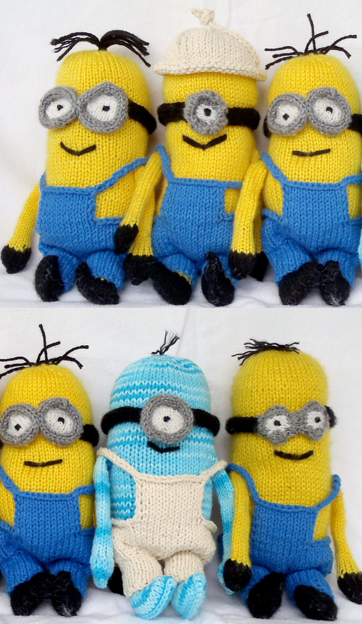 Beautiful Minions and Despicable Me Knitting Patterns Free Minion Crochet Pattern Of Marvelous 44 Images Free Minion Crochet Pattern