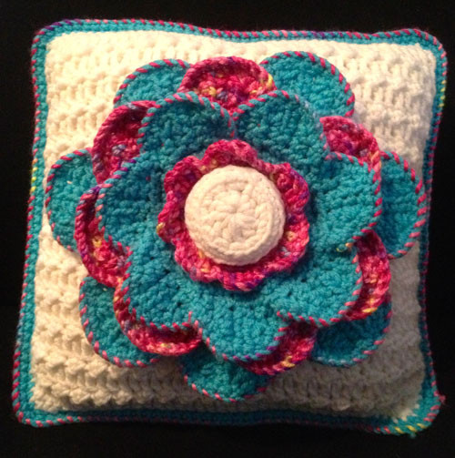 Beautiful Monikarose Crochets Knits & Stamps A Spring Flower Mikey Crochet Crowd Of Top 41 Pics Mikey Crochet Crowd