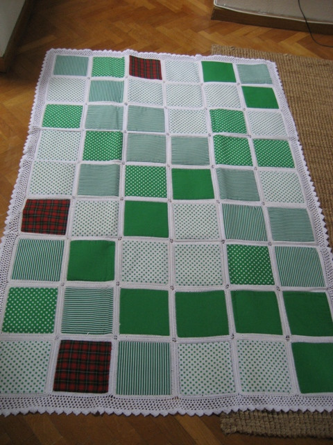 Beautiful My Crocheted Quilt Tutorial Pics Blogs Quilting Board Crochet and Fabric Quilt Of Top 45 Models Crochet and Fabric Quilt