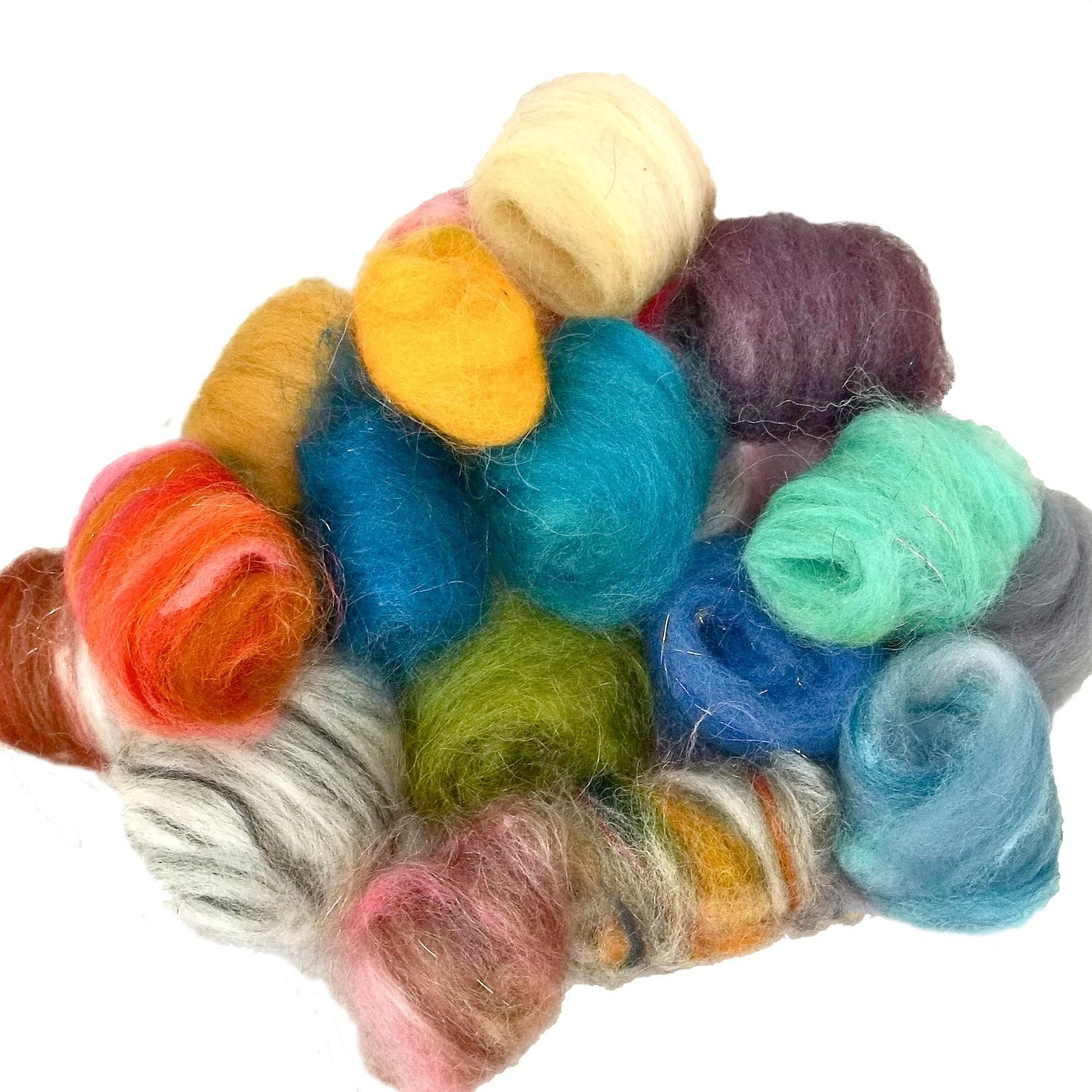 Beautiful Needle Felting Wool Kit Roving Fiber Surprise Pack by Wool Roving Yarn Of Awesome 40 Pictures Wool Roving Yarn
