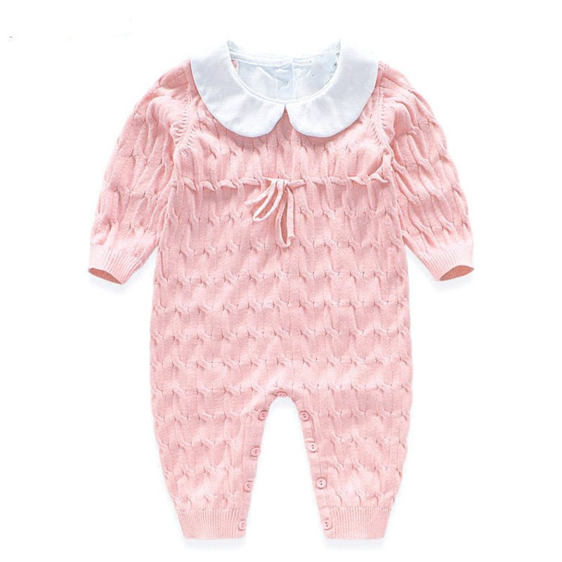 Beautiful New Baby Rompers Knitted Jumpsuit Cotton Coveralls 2016 Knitted Baby Romper Of Amazing 42 Ideas Knitted Baby Romper