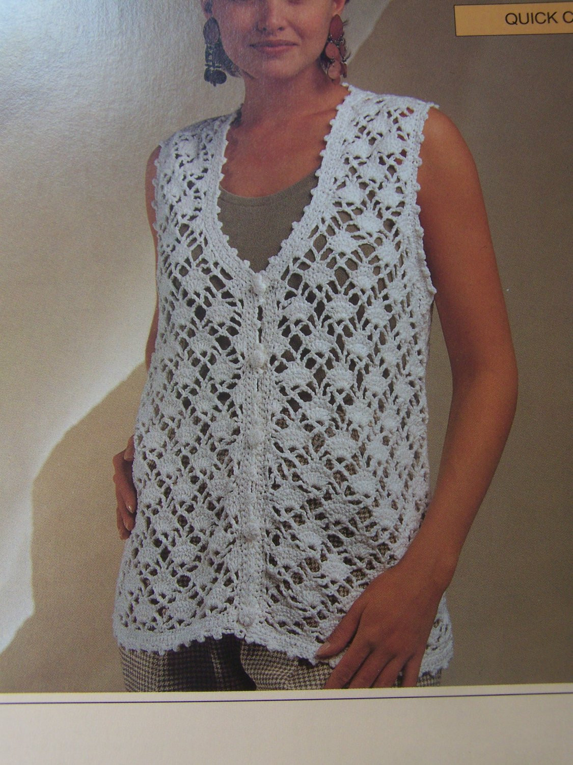 New Bernat La s Clothing Crochet Patterns Diamond Lace