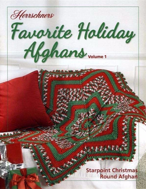 NEW HERRSCHNERS FAVORITE HOLIDAY AFGHANS