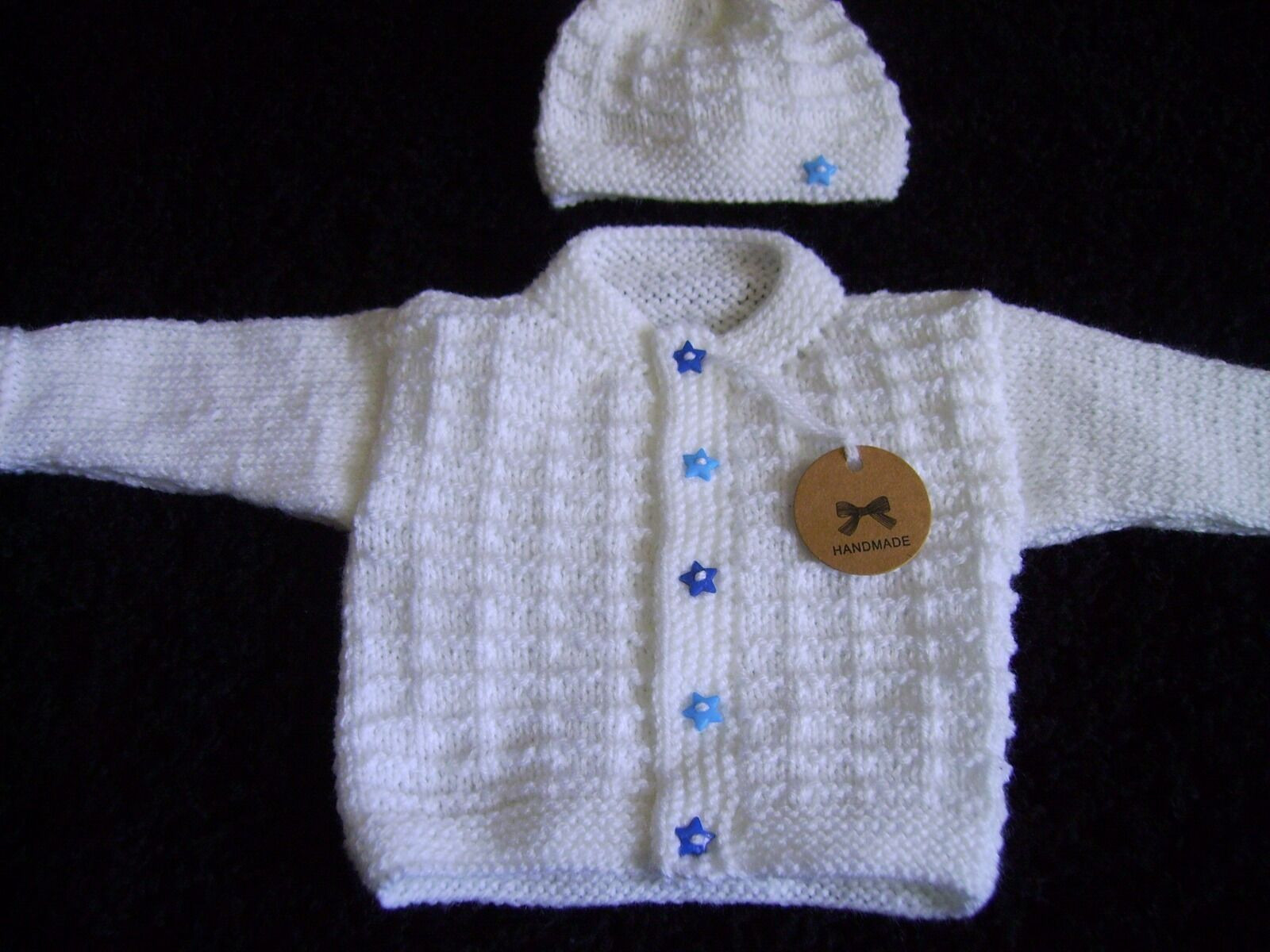 Beautiful New Lovely Hand Knitted White Baby Cardigan Hat Set Baby Knitted Cardigan Of Amazing 41 Models Baby Knitted Cardigan