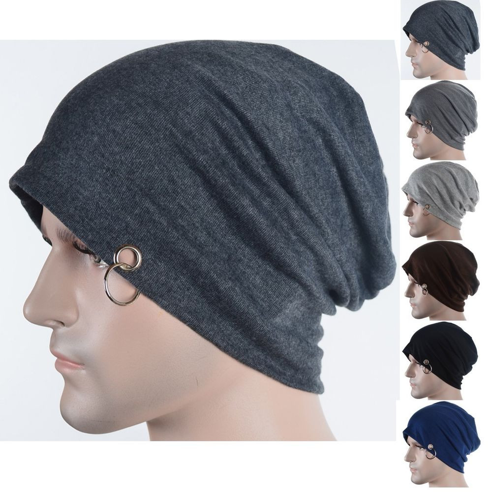 Beautiful New Men Beanie Baggy Slouchy Skull Cap Hat with Ring Thin Mens Slouchy Beanie Hats Of Amazing 47 Models Mens Slouchy Beanie Hats