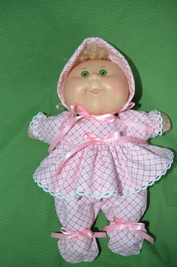Beautiful Newborn Cabbage Patch Doll Clothes 11 Newborn Footed Newborn Cabbage Patch Doll Of Brilliant 49 Pictures Newborn Cabbage Patch Doll