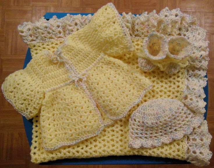 Beautiful Newborn Layette Set I Made for Sale Crochet Baby Sets Of Amazing 49 Models Crochet Baby Sets