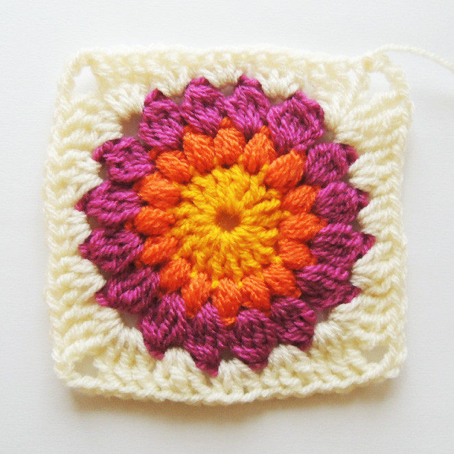 Beautiful Nittybits Sunburst Granny Square Blanket Tutorial Granny Square Tutorial Of Charming 40 Ideas Granny Square Tutorial