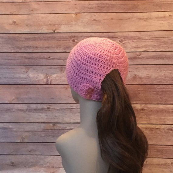 Beautiful norwalk Runner S Beanie Hat Pattern Ponytail Hole Hat Crochet Hat with Ponytail Hole Of Attractive 47 Pics Crochet Hat with Ponytail Hole