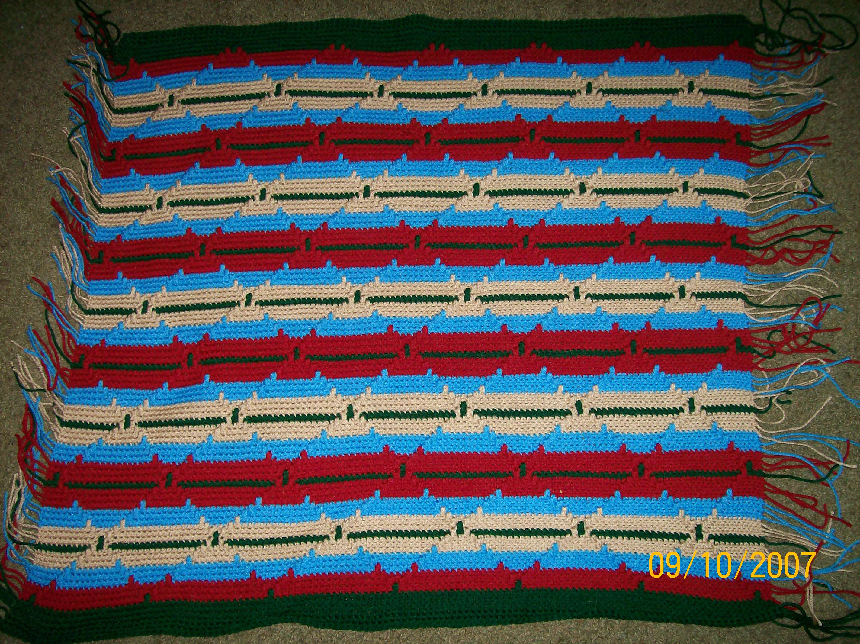 Beautiful Nursing Home Project 2007 2008 My Hook Navajo Crochet Pattern Of Perfect 48 Pics Navajo Crochet Pattern