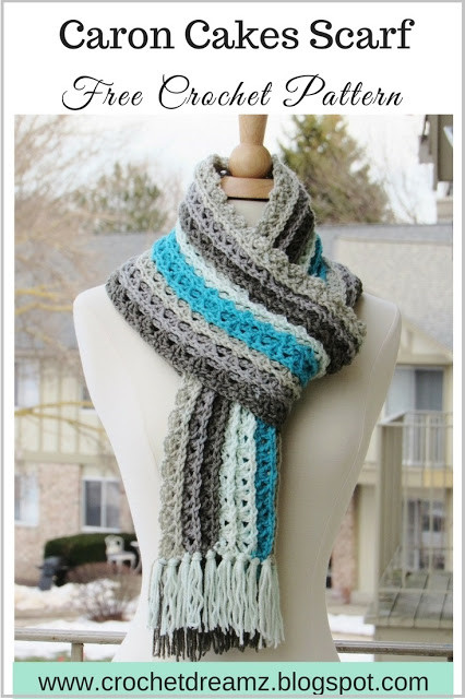 Beautiful Ocean Waves Scarf Free Crochet Scarf Pattern Using Caron Caron Cakes Crochet Patterns Free Of Marvelous 40 Pictures Caron Cakes Crochet Patterns Free