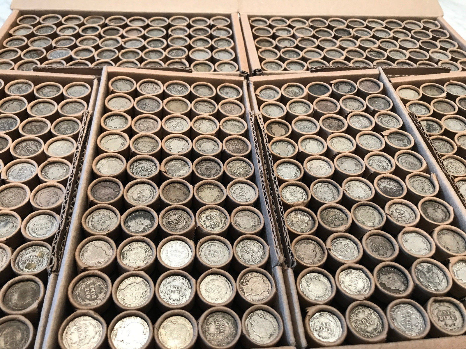 Beautiful Old Unsearched Rolls Wheat Cents Barber Dimes Silver Us Wheat Penny Rolls Of Awesome 43 Photos Wheat Penny Rolls