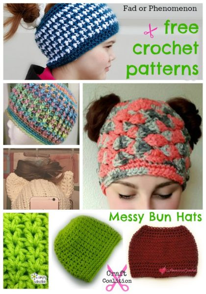 Beautiful Over 25 Free Messy Bun Hat Patterns Free Crochet Pattern for Messy Bun Hat Of Beautiful 47 Ideas Free Crochet Pattern for Messy Bun Hat