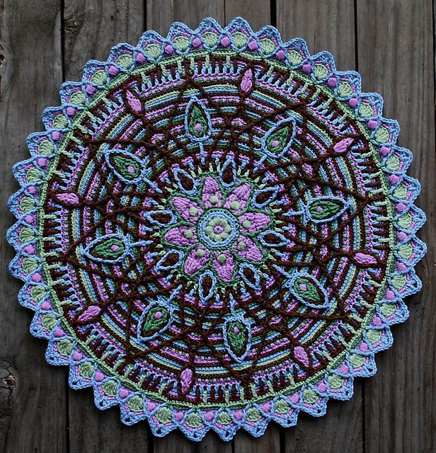 Beautiful Overlay Mandala No 5 Pattern by Carocreated Design Mandala Crochet Patterns Of Beautiful 48 Pictures Mandala Crochet Patterns