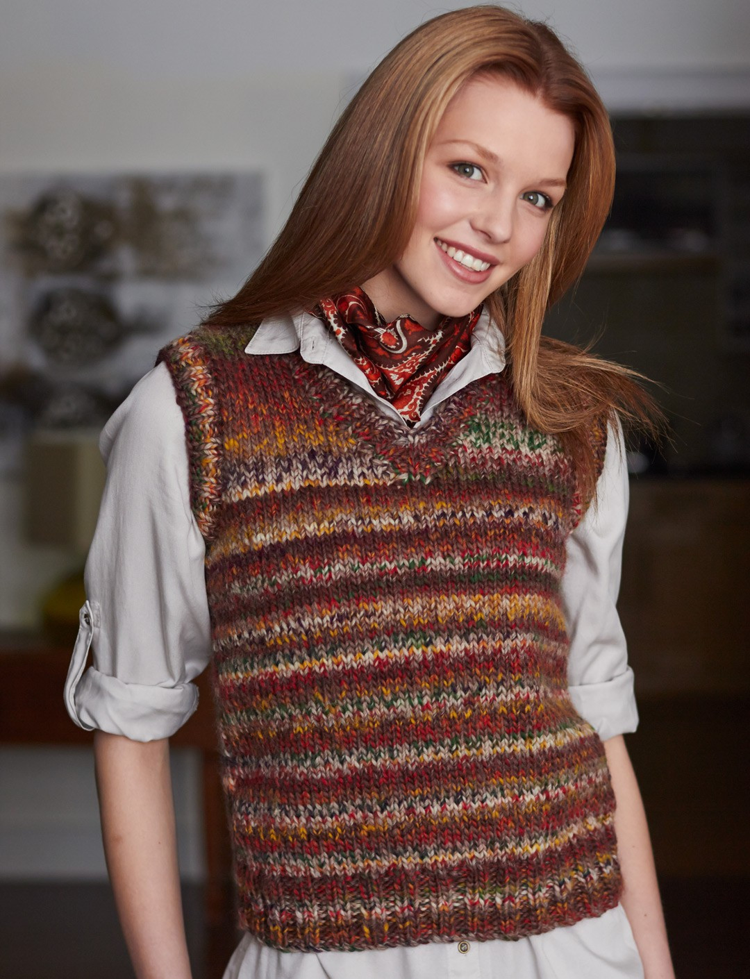 Beautiful Patons Basic Vest Knit Pattern Patons Yarn Patterns Of Adorable 48 Images Patons Yarn Patterns