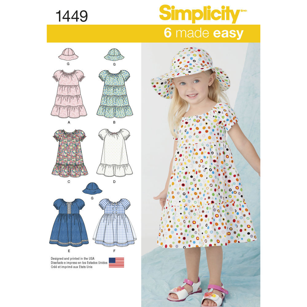 Beautiful Pattern for toddlers Dress and Hat In Three Sizes toddler Clothing Patterns Of Wonderful 49 Pictures toddler Clothing Patterns