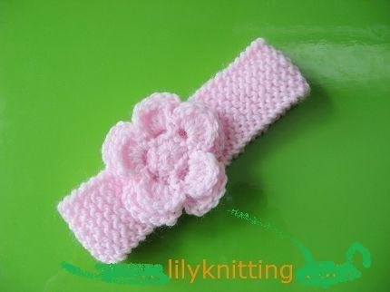 Beautiful Pattern In Pdf Crocheted Knitted Flower Baby Headband Baby Headband Knitting Pattern Of New 47 Ideas Baby Headband Knitting Pattern