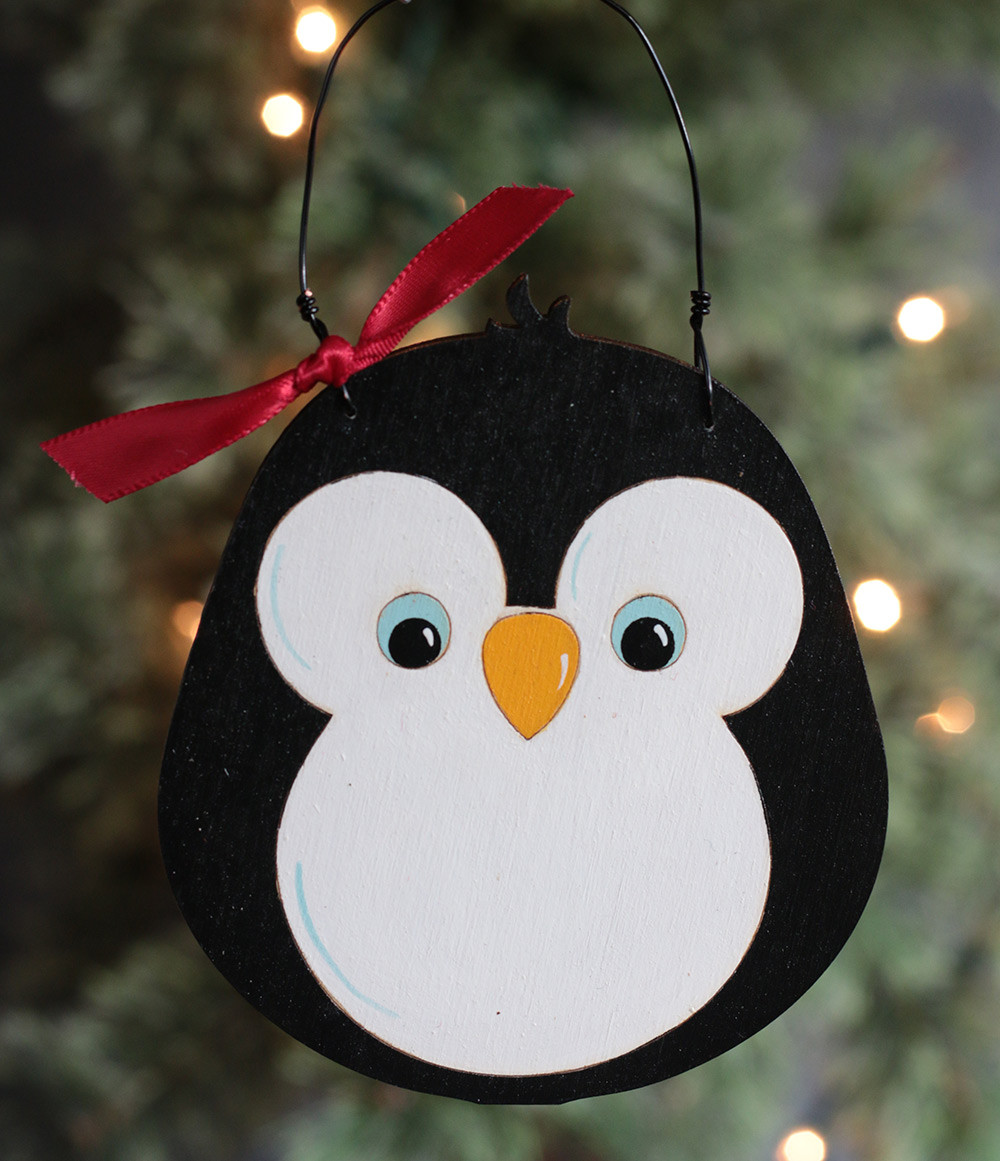 Beautiful Penguin Personalized ornament the Weed Patch Penguin Christmas ornaments Of Top 50 Models Penguin Christmas ornaments