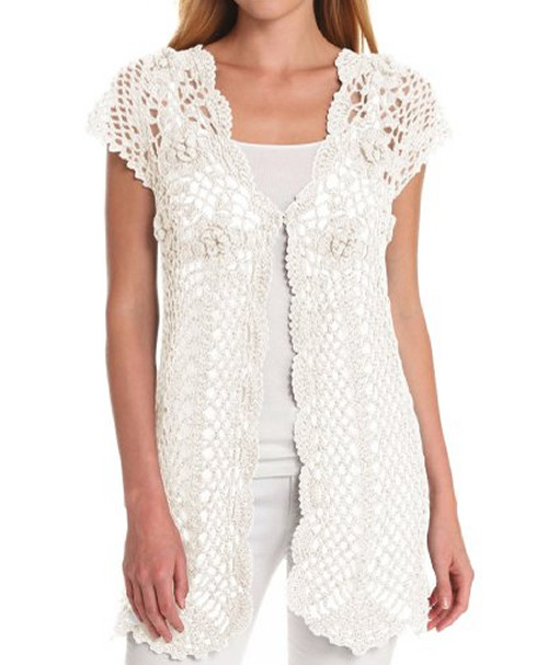 Pin My Style Cute White Crochet Crop Top Outfits