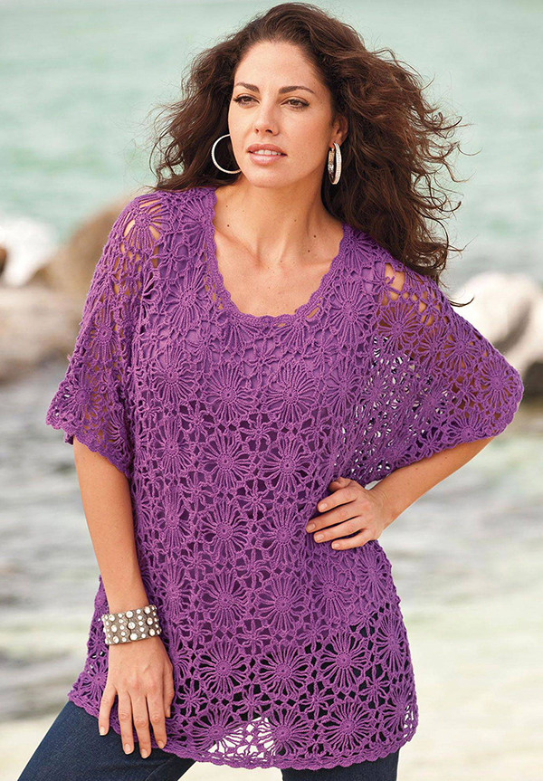 Beautiful Plus Size Crochet Tunics Free Crochet Tunic Patterns Of Marvelous 46 Images Free Crochet Tunic Patterns