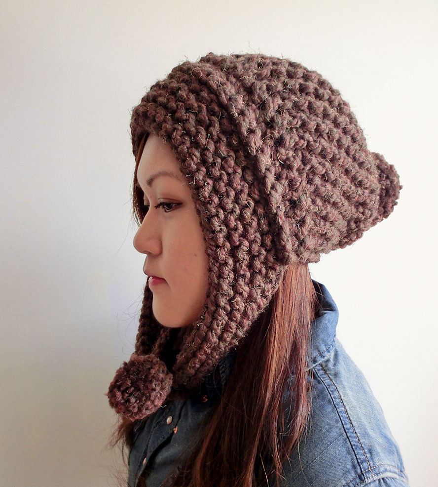 Beautiful Pompom Hat with Ear Flaps Women S Accessories Knit Hat with Ear Flaps Of Marvelous 50 Pics Knit Hat with Ear Flaps