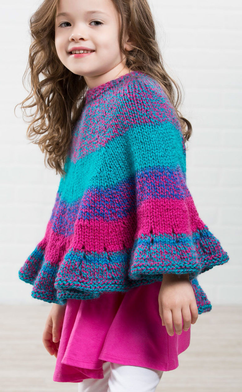 Beautiful Ponchos for Babies and Children Knitting Patterns Knitting Patterns Children Of Brilliant 47 Images Knitting Patterns Children
