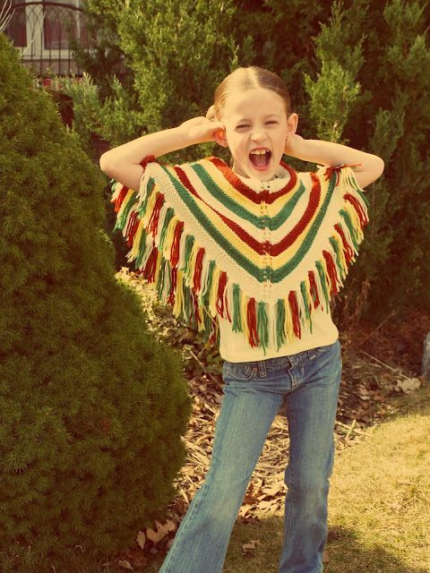 Beautiful Ponchos Were Cool In the70 S Mom Made Mine Grandma Cool Ponchos Of Luxury 46 Pics Cool Ponchos