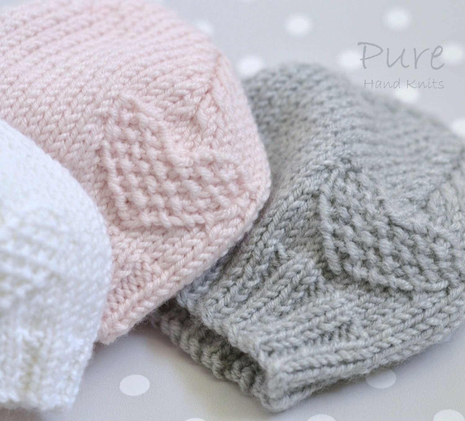 Beautiful Preemie and Newborn Baby Hat Easy Knitting Pattern Knitted Preemie Hats Of Contemporary 46 Images Knitted Preemie Hats