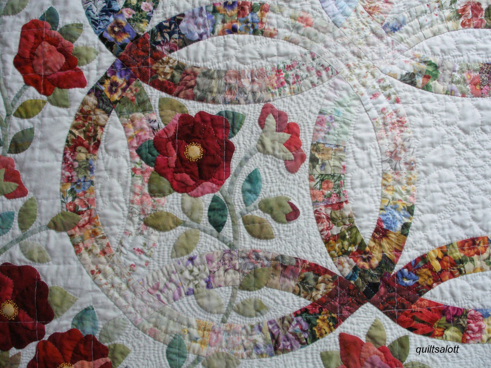 Beautiful Quiltsalott I Have A New Love and It S Name is Wedding Ring Quilt Pattern Of Innovative 47 Pics Wedding Ring Quilt Pattern