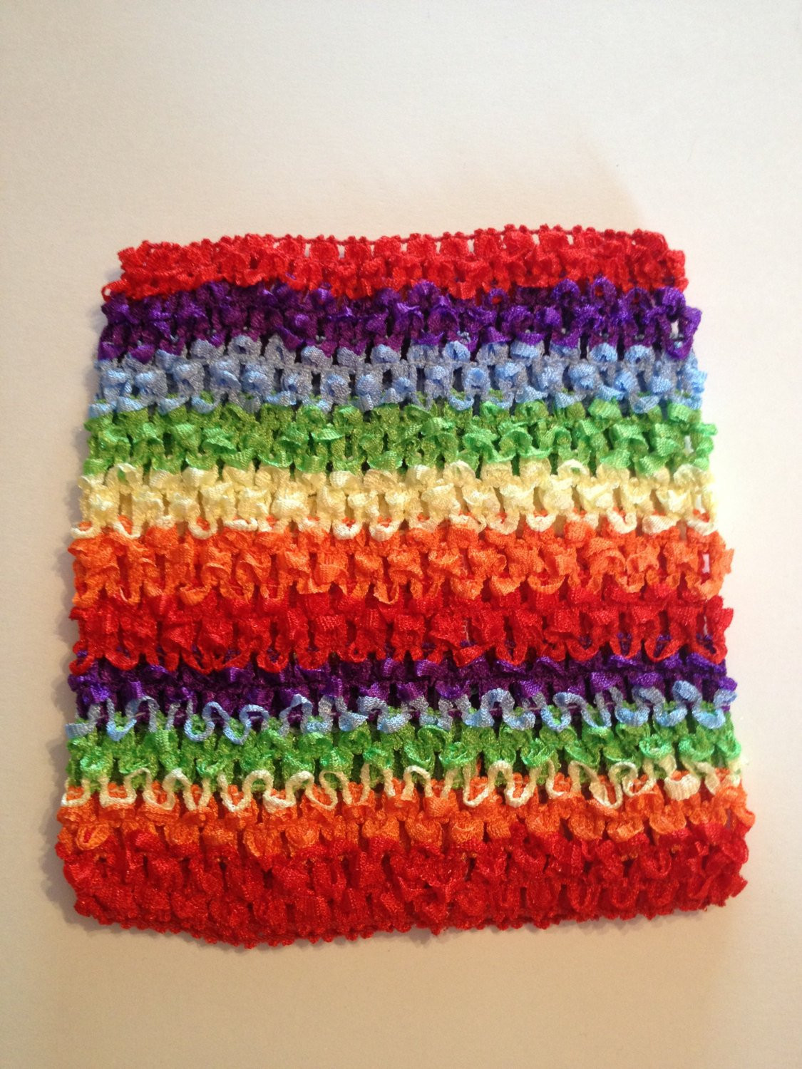 Beautiful Rainbow 6 5 Crochet Tube top for Tutu Dresses Crochet tops for Tutus Of Adorable 45 Models Crochet tops for Tutus