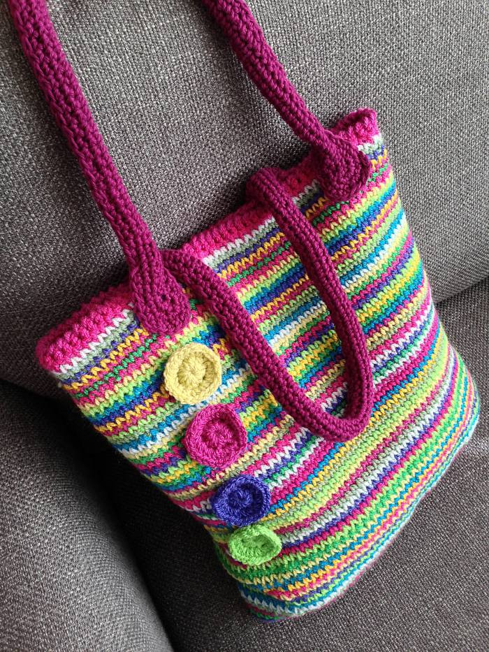 Beautiful Rainbow Crochet tote Bag Stylecraft Crochet Purse Handles Of Awesome 44 Pictures Crochet Purse Handles