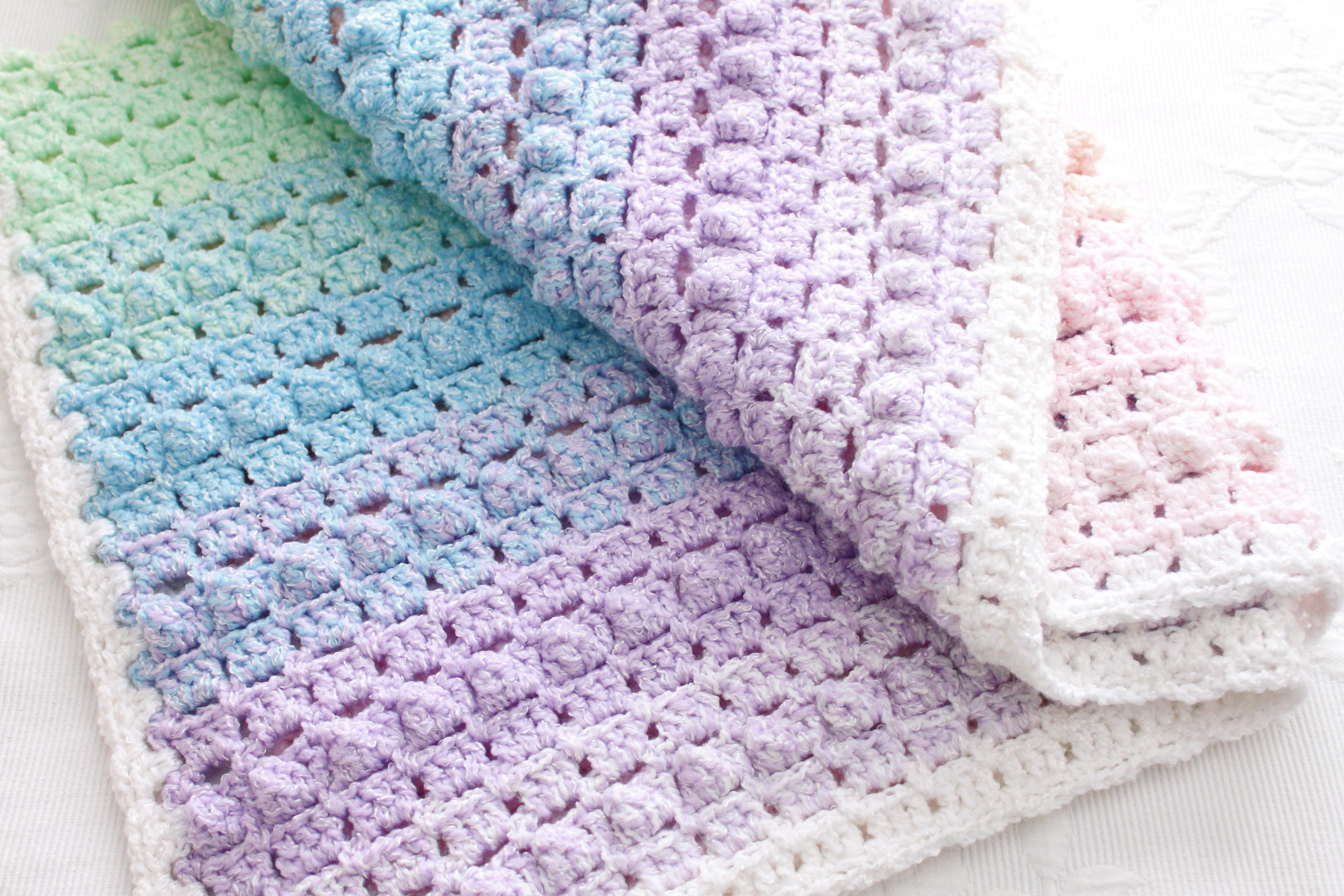 Beautiful Rainbow Popcorn Our First Crochet Pattern Popcorn Stitch Crochet Patterns Of Best Of How to Crochet Lazy Popcorn Stitch No Removing Your Hook Popcorn Stitch Crochet Patterns
