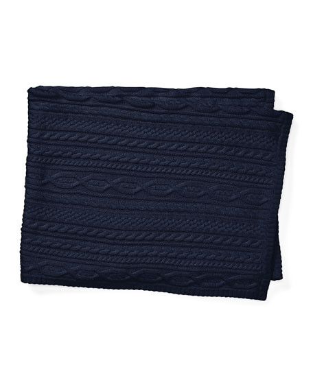 Beautiful Ralph Lauren Childrenswear Cable Knit Baby Blanket Navy Cable Knit Baby Blanket Of Amazing 41 Photos Cable Knit Baby Blanket