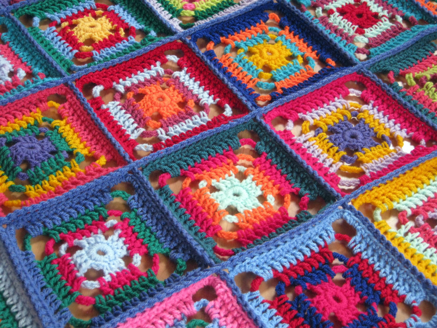 Beautiful Ready to Ship Sale F Crochet Afghan Blanket Granny Crochet Afghan Squares Of Gorgeous 46 Pics Crochet Afghan Squares