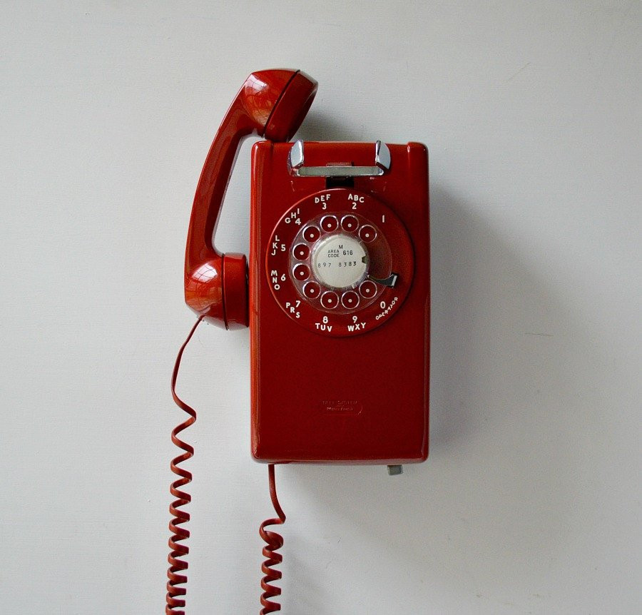 Beautiful Red Wall Phone Working Rotary Dial Wall Mount Telephone Vintage Rotary Wall Phone Of Wonderful 46 Pictures Vintage Rotary Wall Phone