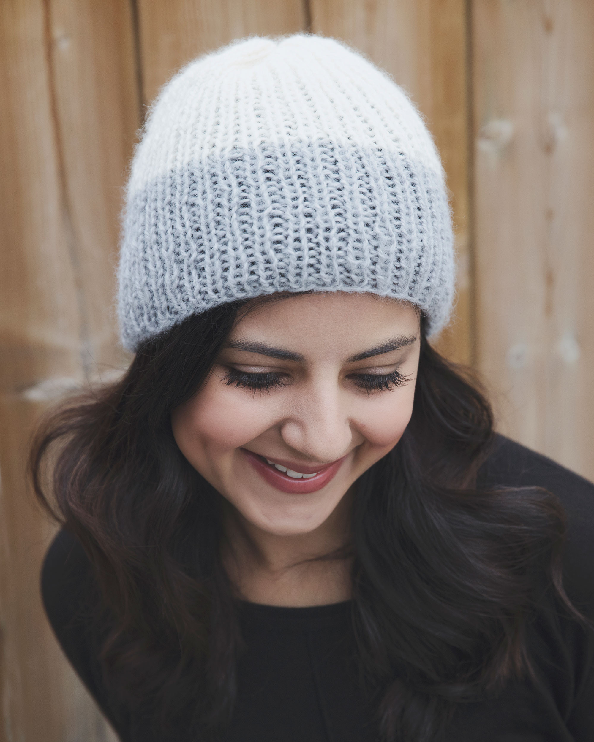 Reverie Ribbed Winter Hat Knitting Pattern Leelee Knits
