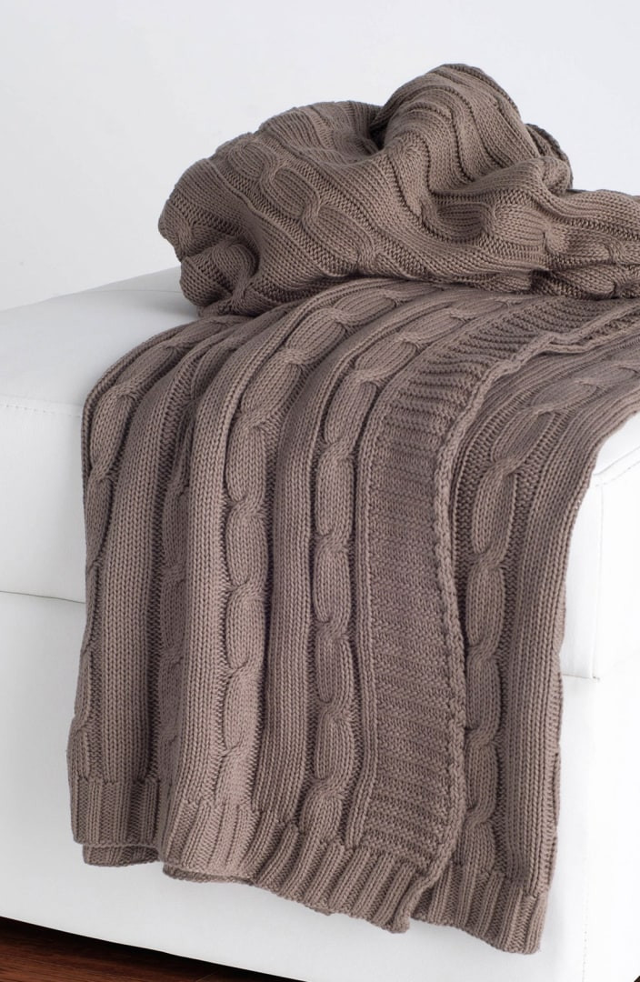 Beautiful Rizzy Home Cable Knit Cotton Throw Cotton Knit Blanket Of Innovative 42 Models Cotton Knit Blanket