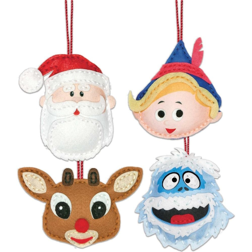 Beautiful Rudolph the Red Nosed Reindeer ornaments Felt Kit by Christmas Reindeer ornaments Of Adorable 44 Pictures Christmas Reindeer ornaments