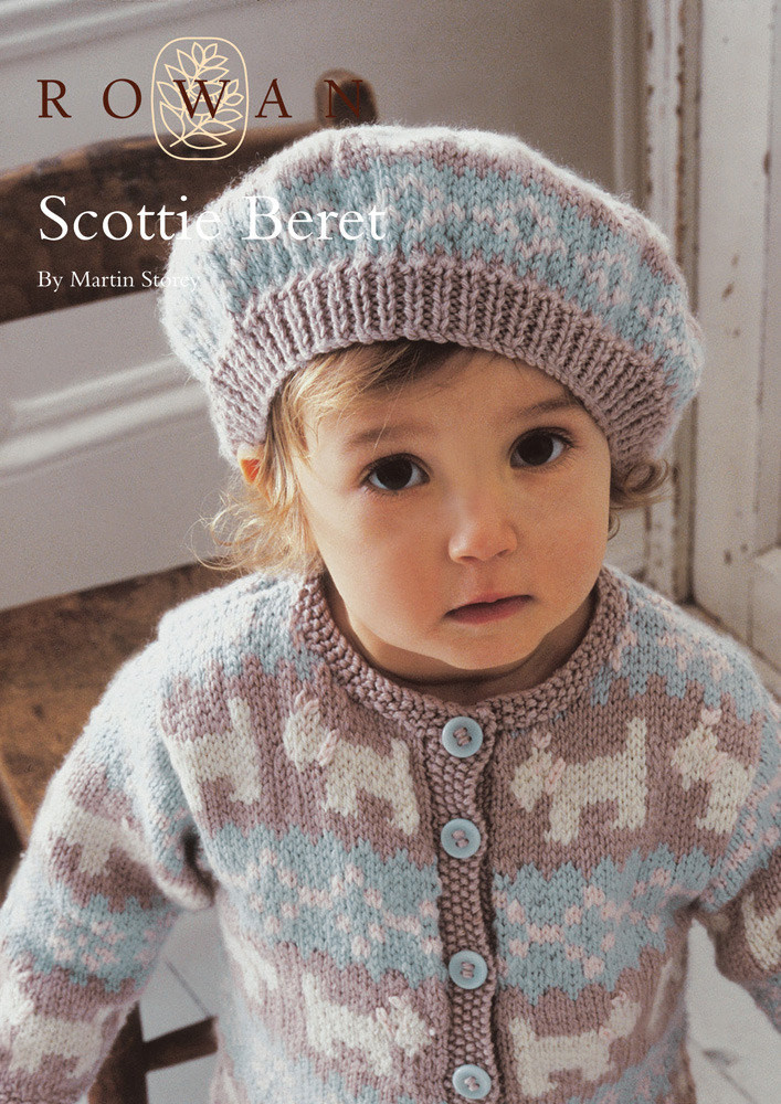 Beautiful Scottie Beret In Rowan Baby Merino Silk Dk Knit Beret Of Beautiful 41 Models Knit Beret