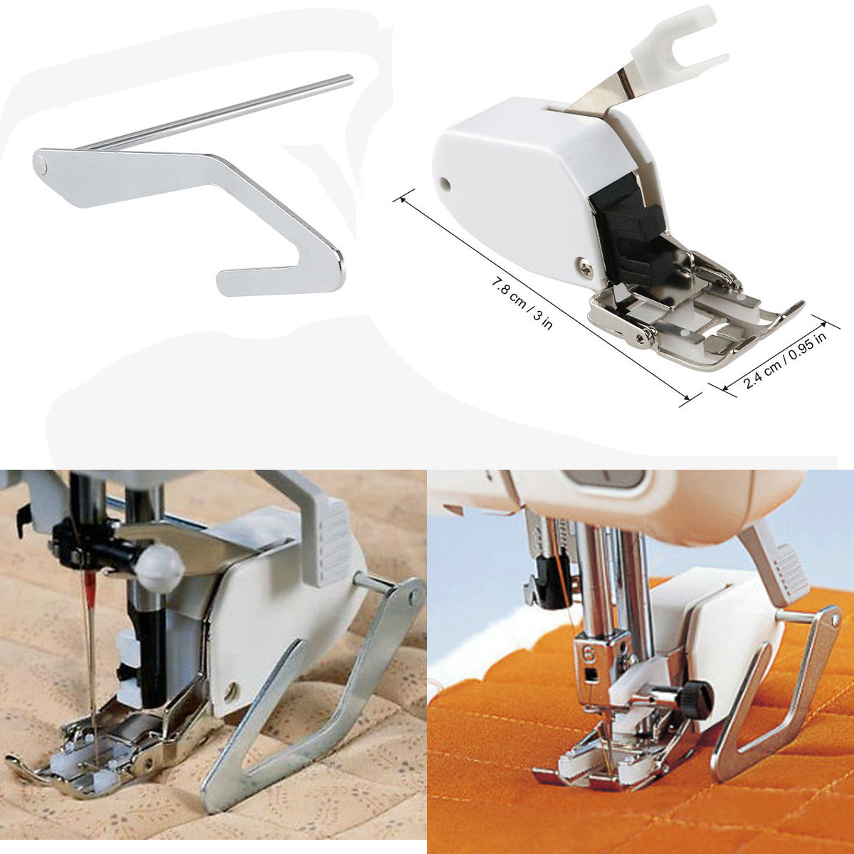 Beautiful Sewing Machine Screw On even Feed Walking Foot W Quilt Singer Sewing Machine Feet Of Amazing 50 Pics Singer Sewing Machine Feet